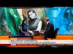 Veena Malik on BBC World