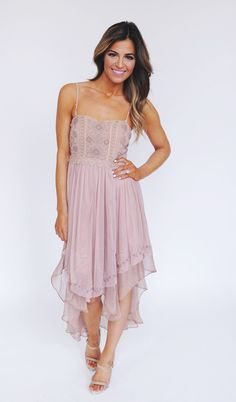Dottie Couture Boutique - Dusty Rose Beaded Dress , $72.00 (http://www.dottiecouture.com/dusty-rose-beaded-dress/)