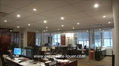 Location bureau commercial murs de verre centre-ville Montreal