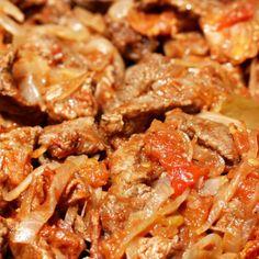 Bistec a la mexicana #ComidaMexicana #Cancun  https://www.facebook.com/lacocinademamanita?ref=br_tf