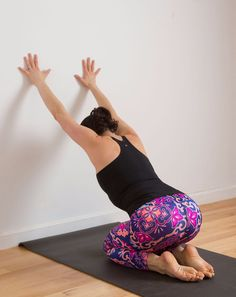 Whether it be from a stressful job or a kick-ass weight training session at the gym, this stretch is sure to bring some instant relief.