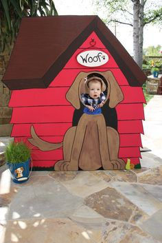 """Photo 3 of 44: Frogs & Snails & Puppy Dog Tails (& Red Wagons) / Birthday """"Carter's 1st Birthday Party"""" 