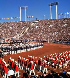 Olympic Games: Opening ceremonies throughout the years: 1964 Tokyo. Looking forward to 2020 when Japan hosts the Olympic Games again.