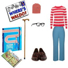 Where's Waldo? #halloween #costume #waldo