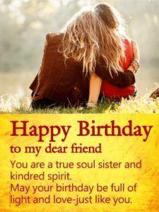 Happy Birthday Quotes For Best Friend Birthday