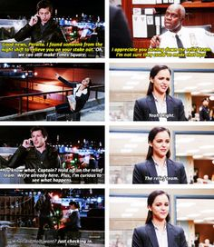 Brooklyn nine nine, Jake and Amy. :)