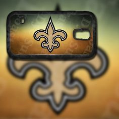 New Orleans Saints Design on Samsung Galaxy S5 Black Rubber Silicone Case by EastCoastDyeSub on Etsy https://www.etsy.com/listing/196345198/new-orleans-saints-design-on-samsung