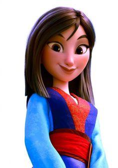 Mulan In Ralph Breaks The Internet Disney Princess Fashion, Disney Princess Drawings, Disney Princess Pictures, Disney Princess Art, Disney Pictures, Disney Drawings, Disney Style, Film Disney, Disney Nerd