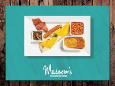 Enjoy the tempting Mushroom and Cheese Platter by #Masooms pancake Lounge