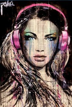 "Saatchi Art Artist Loui Jover; Drawing, ""DJ"" #art"