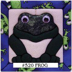 Quilt Magic Frog 6x6-inch Quilt Kit