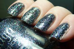 Maya Cosmetics - Hootenanny - swatched on nail wheel - $4.00 - SOLD