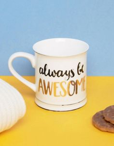 Sass & Belle Always Be Awesome Mug
