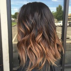 Caramel+Ombre+For+Brown+Hair