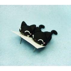 Pendientes Gato Negro Come Orejas exclusivo hecho a mano