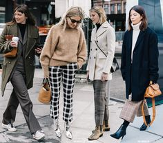 FW Faves: Plaid Trousers
