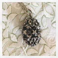 "Pandorably Charmed on Instagram: ""Love this Wanda's Garden pendant with black crystals so much. It did so detailed and I love the oxidation. #pandoraretired…"" Pandora Necklace, Black Crystals, Charmed, Pendant Necklace, Detail, My Love, Garden, Instagram, Jewelry"