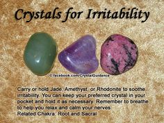 Related Chakra: Root and Sacral