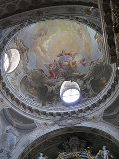 San Lorenzo, Lugano, Switzerland Architecture Interiors, Contemporary Architecture, Art And Architecture, Italy Trip, Italy Travel, Washington Dc, Travel Ideas, Travel Photos, Cathedral Ceilings