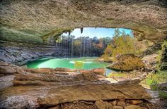 16.) Hamilton Pool Preserve, Dripping Springs, Texas Been to 5 places on this list. So many places so little time.