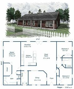 Floor Plan Ideas Barndominium.com