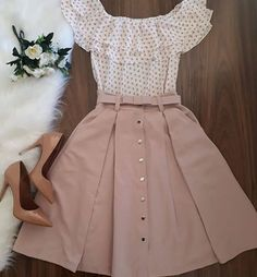 59 New Ideas For Moda Femenina Vestidos Dresses Modest Dresses, Modest Outfits, Skirt Outfits, Casual Outfits, Dress Casual, Maxi Dresses, Cute Outfits With Skirts, Casual Shoes, Modest Wear