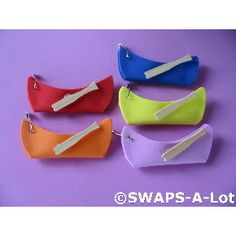 SWAPS-A-Lot - Mini Canoe~Paddle SWAP SWAPS Kit for Girl Kids Scout (20)