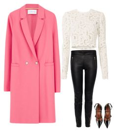 """""""Untitled #389"""" by serpentola ❤ liked on Polyvore featuring Harris Wharf London, A.L.C., Alexander McQueen and RED Valentino"""