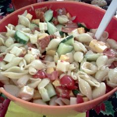 Pasta Salad recipe - allthecooks.com | must try looks delicious