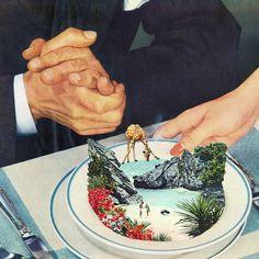 Les nouveaux Collages surréalistes de Eugenia Loli (2)