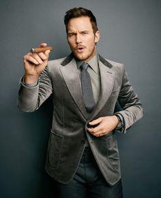 Chris Pratt - Cigar Aficionado - June 2017