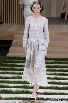 Chanel Couture коллекция весна-лето 2016