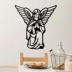 Drevený anjel - obraz na stenu │DUBLEZ Anjel, Home Decor, Homemade Home Decor, Decoration Home, Interior Decorating