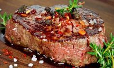 Need an excellent steak choice for that special dinner that's stress-free and easy? Then go for a ribeye that never fails to guarantee a delicious, juicy steak. It's the ultimate steak for so many reasons. Grilled Steak Recipes, Grilled Meat, Meat Recipes, Cooking Recipes, Marinated Steak, Steak Marinade Best, How To Grill Steak, Sauce Steak, Beef Steak