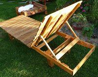 L'été nous invite à la farniente, j'ai donc décidé, sur l'exemple d'une chaise longue importée d'une destination lointaine, d'en fabriquer...