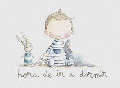 Erase una vez… es la empresa que ha creado Rocío, una ilustradora catalana que pinta gran parte de sus creaciones directamente sobre