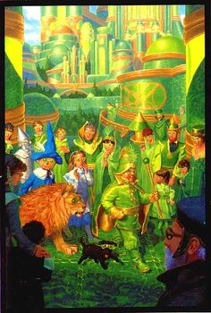 The Emerald City by Greg Hildebrandt