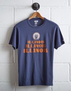 Tailgate Men's Illinois Fighting Illini T-Shirt