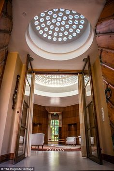 Eltham Palace had many state of the art modern conveniences in its day, such as under-floor heating, multi-room sound systems and a centralised vacuum cleaner