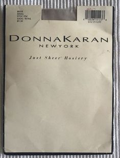 c099770d65282 NIP, Donna Karan New York pantyhose, just sheer hosiery, beige, Small  12036151236