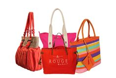Fashionable colorful hand bags from YOLO