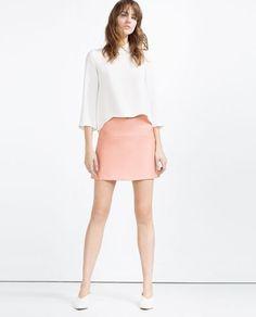 Image 1 of MINI SKIRT from Zara