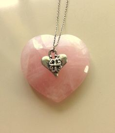 Small Vintage Sterling Silver Heart With by MAGICALUNIVERSE, $45.00