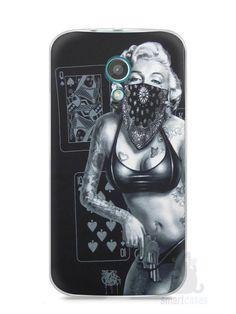 Capa Moto G2 Marilyn Monroe #3 - SmartCases - Acessórios para celulares e tablets :)