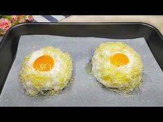 Nový spôsob výroby vajec na raňajky. Jesť zdravé jedlo! # 118 - YouTube Healthy Foods To Eat, Healthy Eating, Healthy Recipes, Ways To Make Eggs, Appetizer Recipes, Appetizers, Good Food, Yummy Food, Egg Recipes For Breakfast