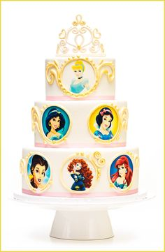 Birthday Cakes - Disney Princess Cake