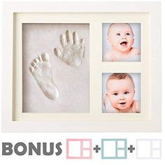 Baby Handprint Kit No Mold Baby Picture Frame Baby Footprint Kit Perfect For Baby Boy Gifts Top Baby Girl Gifts Baby Shower Gifts Newborn Baby Baby Baby, Newborn Baby Boy Gifts, Baby Girl Gifts, Newborn Girls, Baby Handprint Kit, Clay Handprint, Baby Picture Frames, Baby Registry Must Haves, Gift Registry