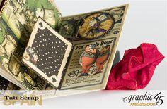 Magical Book by Tati #graphic45 #halloweeninwonderland #album