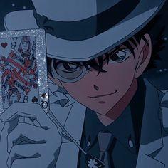 Manga Detective Conan, Kaito Kuroba, Kaito Kid, Detective Conan Wallpapers, Kids Icon, Magic Kaito, Anime Life, Cute Anime Character, Cute Icons