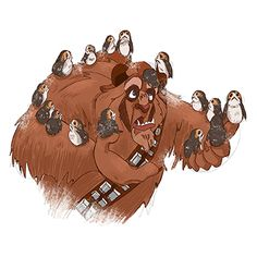 Star Wars and Beast cross over